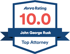 Avvo Rating John George Rusk