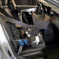 rear-facing child safety seat