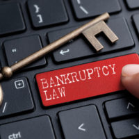 The key that reads Bankruptcy law
