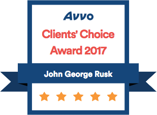Avvo Clients Choice John George Rusk