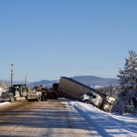 Big rig accident
