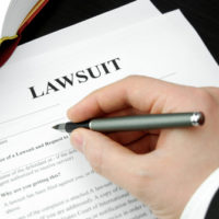 Image of the word lawsuit