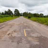 a defective road condition