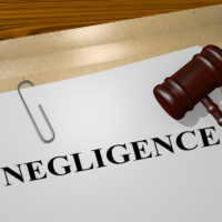 Negligence title on legal documents