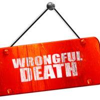A wrongful death sign