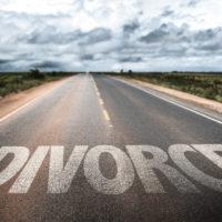 Road reads Divorce