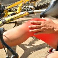 Biker injuried