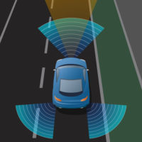 Lane Departure Warning System car