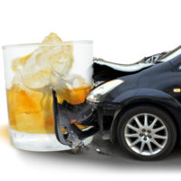 The car crashes into Glass of Scotch