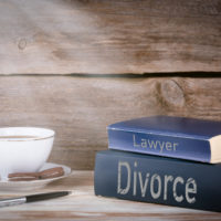 Two books that read divorce lawyer