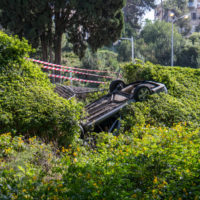 Convertiable rolls over to bushes