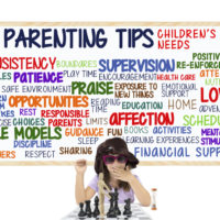 Parenting tips board