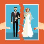 Married couple splitting up