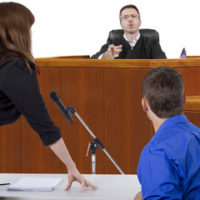 Judge in trial