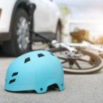 Bicyclist Injured in Crash