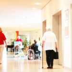 Inside nursing home